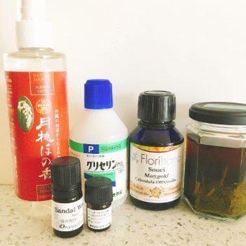 月桃とカレンデュラの化粧水