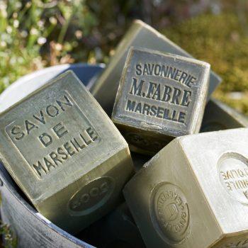 マリウスファーブル社のマルセイユ石けん「サボンドマルセイユ」