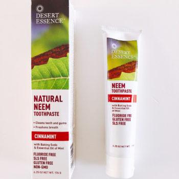 Desert Essence(デザートエッセンス)のシナモンミント歯磨き粉